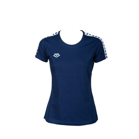 arena Team T-Shirt Damen navy/white/navy